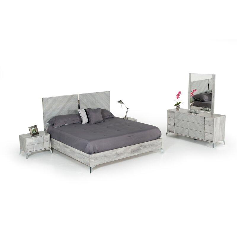 Brayden Studio Labombard Modern Platform Bed Reviews Wayfair