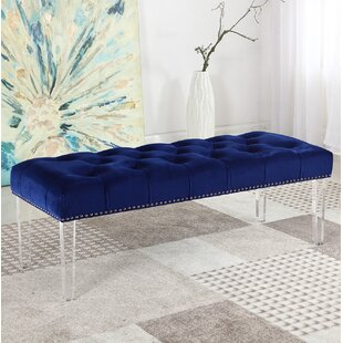 Navy Blue Bedroom Bench | Wayfair