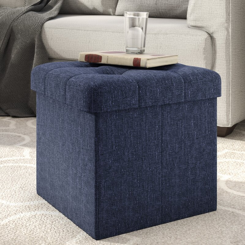 Zosia Tufted Foldable Storage Cube Ottoman & Zipcode Design Zosia Tufted Foldable Storage Cube Ottoman ... islam-shia.org
