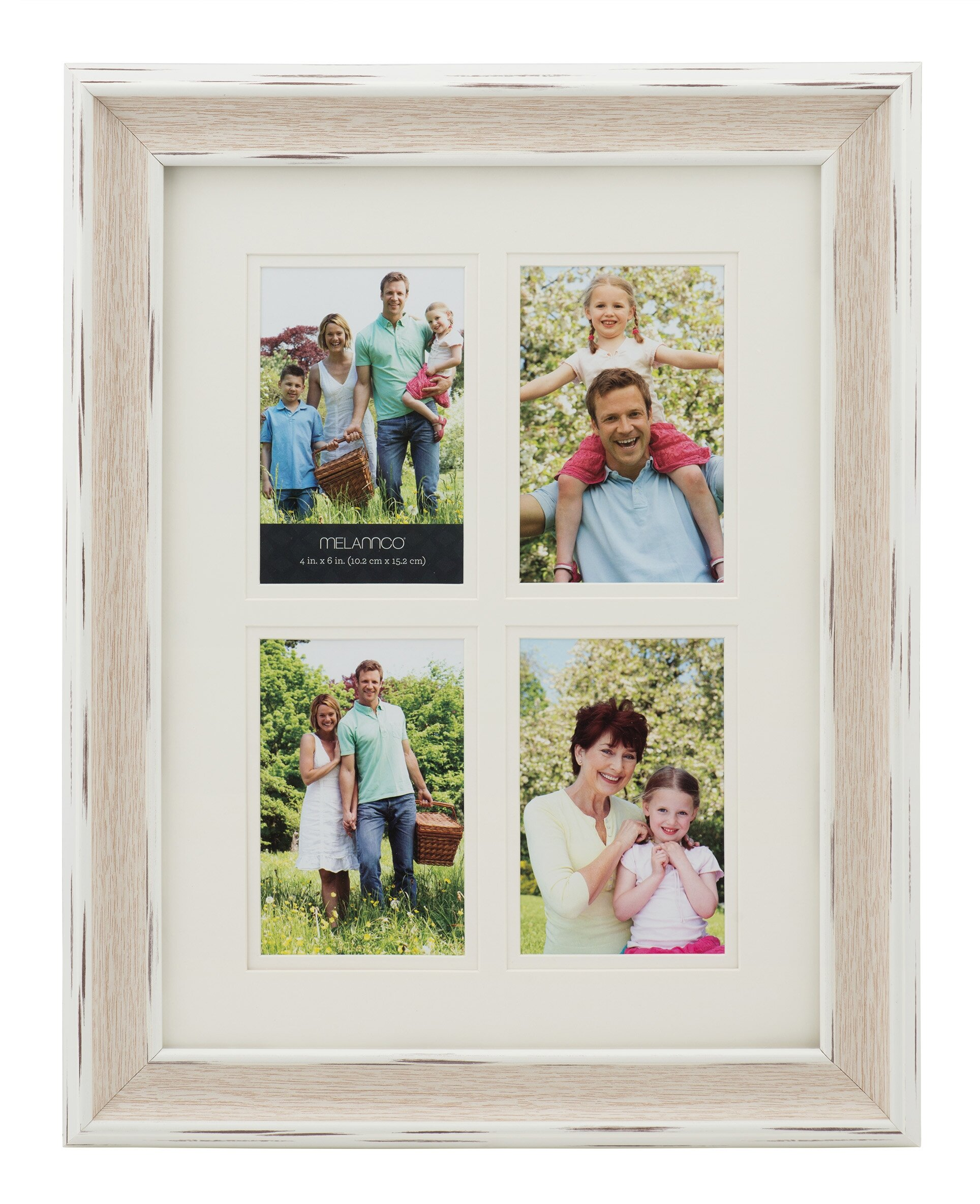 Melannco 4-Opening Collage Picture Frame & Reviews | Wayfair