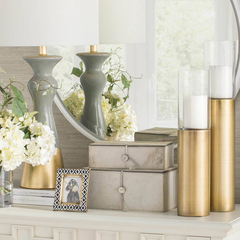 Glam home accents