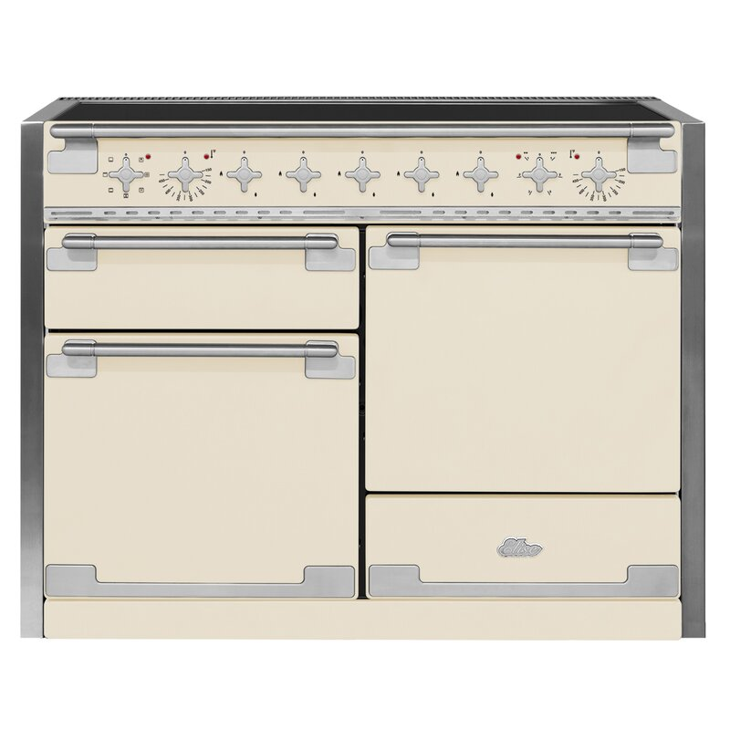 "AGA 48"" Elise Free-Standing Electric Range  Finish: Ivory"