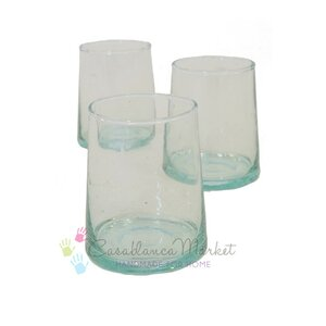 Far 8 Oz. Stemless Wine Glass (Set of 6)