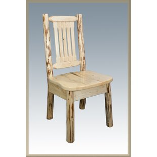 Tustin Slat Back Solid Wood Dining Chair