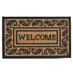 Border Welcome Doormat