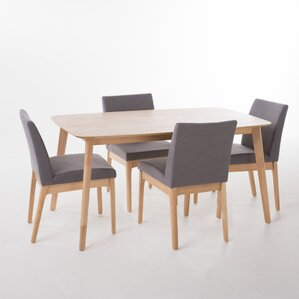 Ceto 5 Piece Dining Set