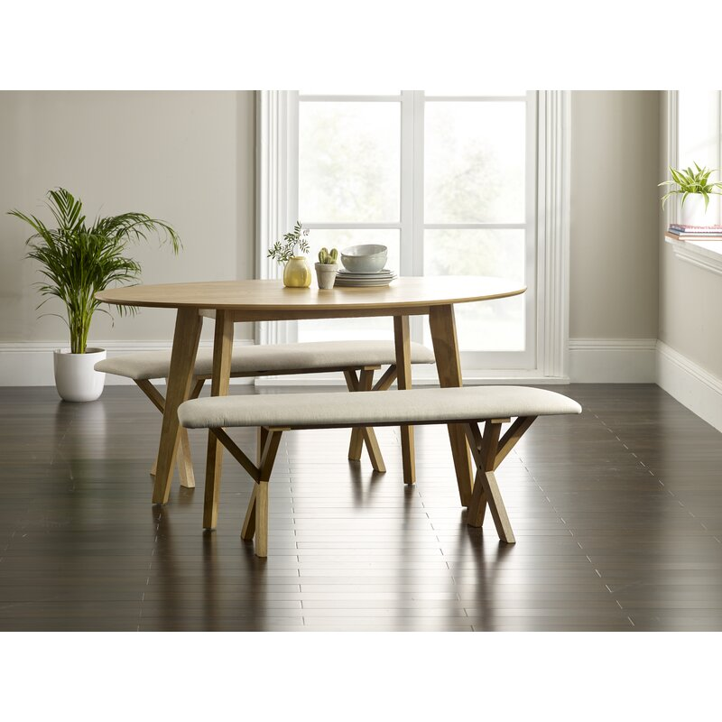 Norden Home Macy Dining Set With 2 Benches