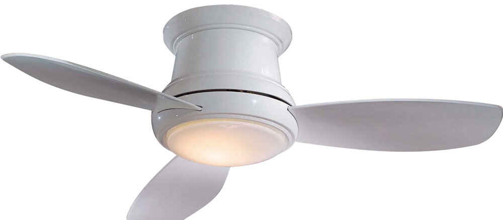 Minka aire 52 concept ii 3 blade led ceiling fan with remote minka aire 52 concept ii 3 blade led ceiling fan with remote reviews wayfair aloadofball Image collections