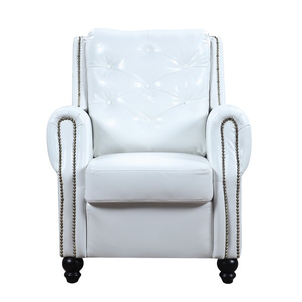 Charlton Home Riddick Faux Leather Armchair | Wayfair