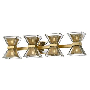 Bathroom Vanity Lights Brass 6 or more light pewter & silver bathroom vanity lighting you'll
