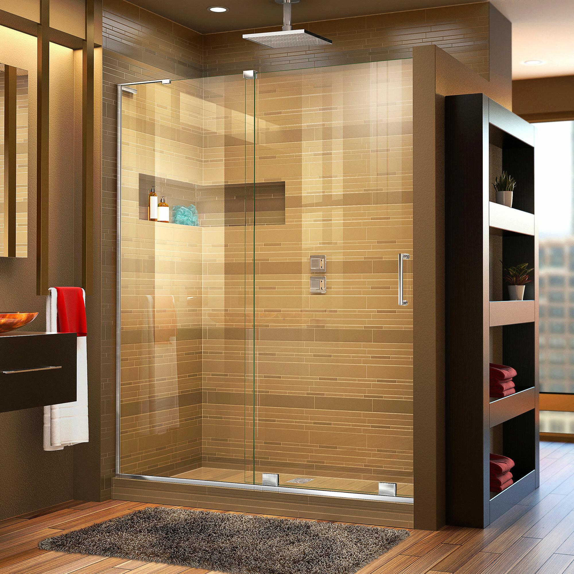 Dreamline Mirage X 48 X 72 Single Sliding Frameless Shower Door