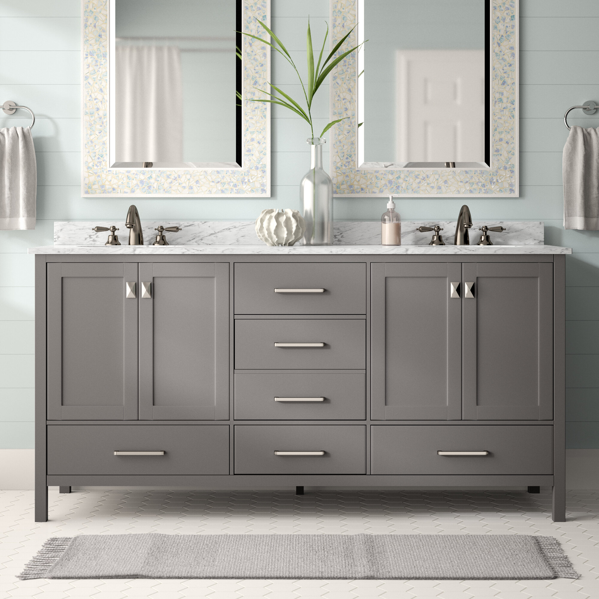 Miraculous Find The Perfect 72 Inch Vanities Wayfair Home Interior And Landscaping Ferensignezvosmurscom