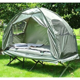 4 Piece 1 Person C&ing Tent and Cot & 1 Person Tents u0026 Shelters | Wayfair.co.uk