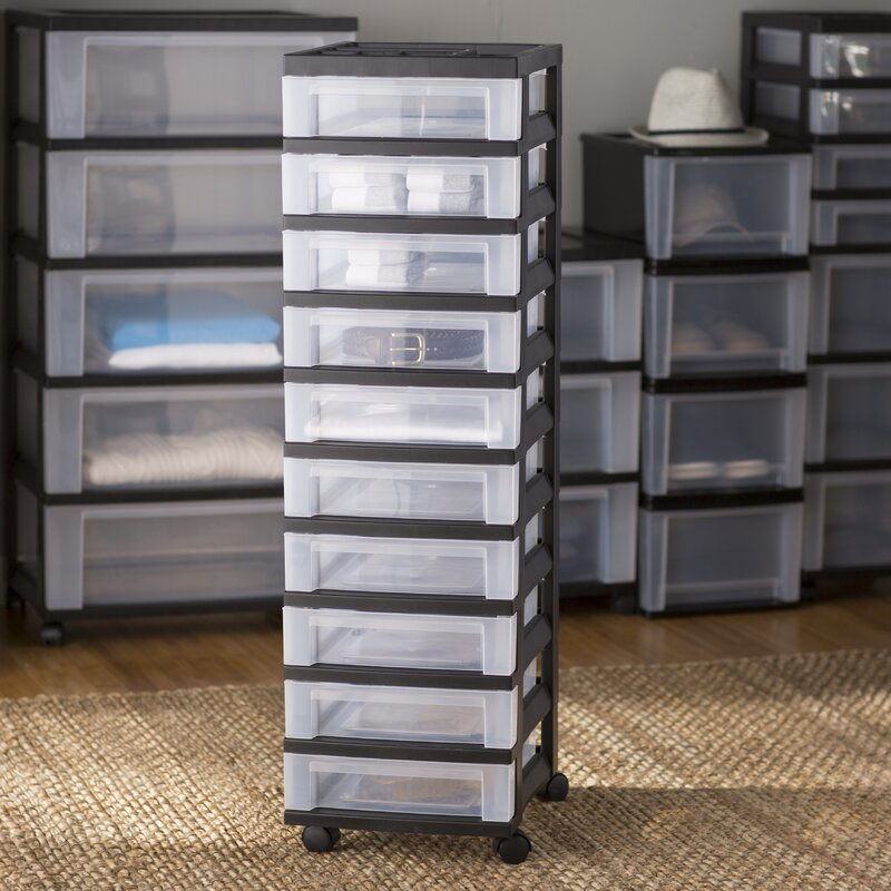 grey with ch chest storage plastic iris s drawer drawers metal wheels