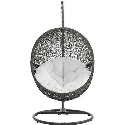 Hide Swing Chair With Stand