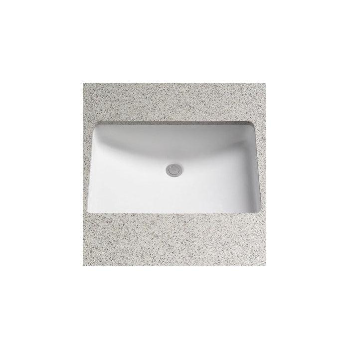 Toto Rimless Ceramic Rectangular Undermount Bathroom Sink with ...