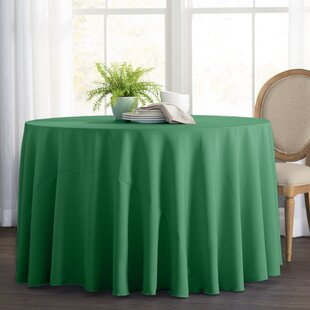 Green Round Table.Green Tablecloths You Ll Love In 2019 Wayfair