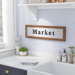 Farmhouse Market Wall Decor