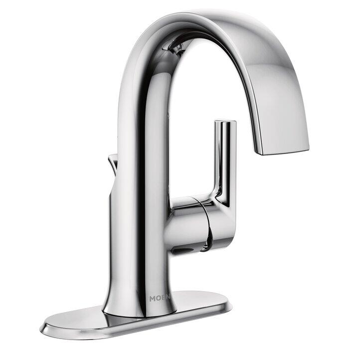 . Doux Single Hole Bathroom Faucet