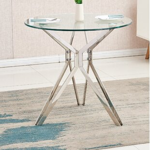53600957cb53 Glass Round Kitchen   Dining Tables You ll Love