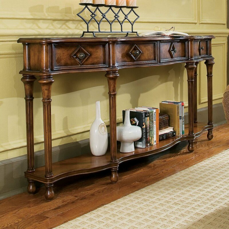15c39509a329a4 Hooker Furniture Decorator Hall Console Table & Reviews   Wayfair