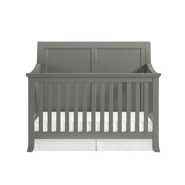Harriet Bee Rollins 3 Piece Crib Bedding Set: Harriet Bee Powell 4-in-1 Convertible Crib