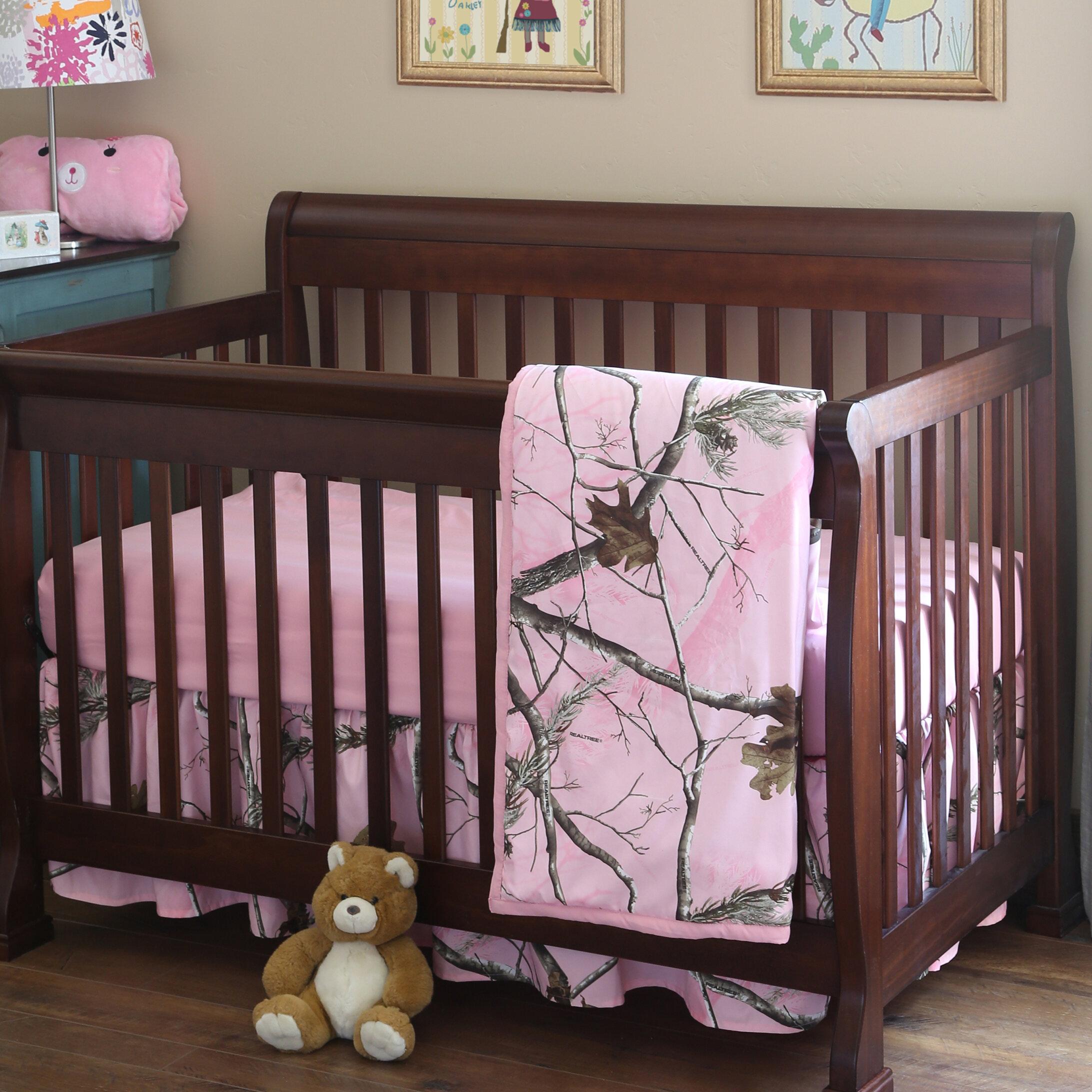 Realtree Realtree AP 3 Piece Crib Bedding Set   Reviews  ae6645cd7