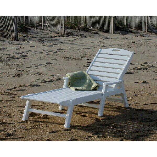 Polywood 174 Nautical Chaise Lounge Amp Reviews Wayfair
