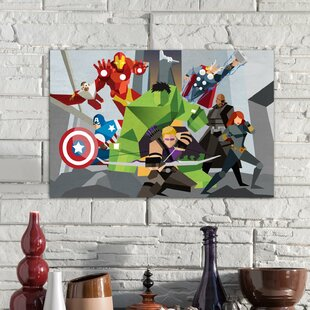 Marvel Avengers Room Decor | Wayfair
