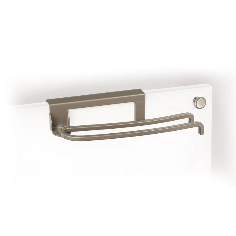 Lynk Over Cabinet Door Pivoting Over The Door Towel Bar