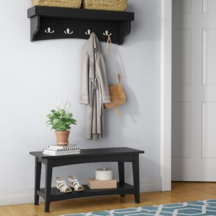 Entryway Shelf And Bench Set Wayfair