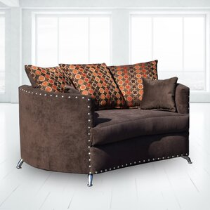 Delmon Loveseat by Latitude Run