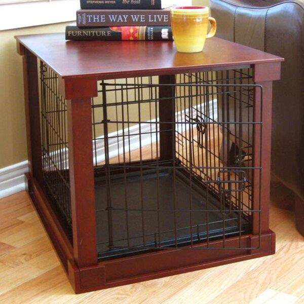 Amazing Merry Products Deluxe Pet Crate In Brown U0026 Reviews | Wayfair