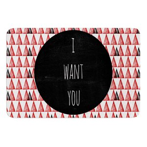 I Want You by Skye Zambrana Bath Mat