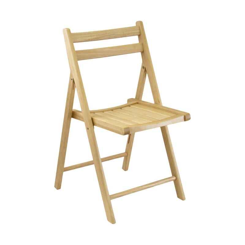 Wood Folding Chair  sc 1 st  Wayfair & Winsome Wood Folding Chair u0026 Reviews | Wayfair