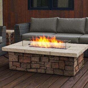 Sedona Concrete Propane Fire Pit Table
