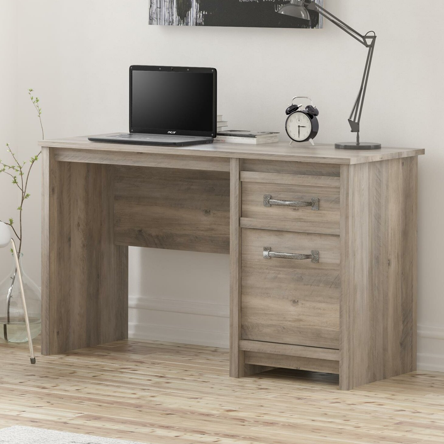 ideas depot desk lshaped of corner elegant and home computer compact with hutch using for at cherry drawers shaped office oak furniture desks wood l decorating awesome