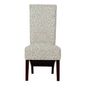 Audra Beige Parsons Chair (Set of 2) by Darby Home Co