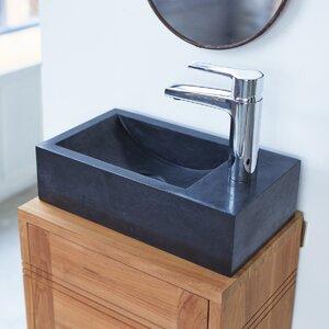 Tikamoon 36 cm Aufsatzwaschbecken Vasque