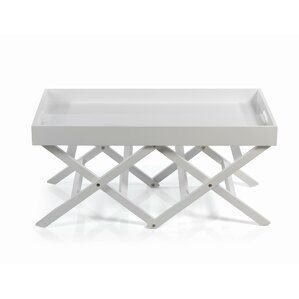 Belvedere Folding Table with Tray Top by Dar..