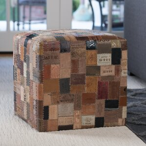 Gloucester Cube Ottoman by Loon Peak