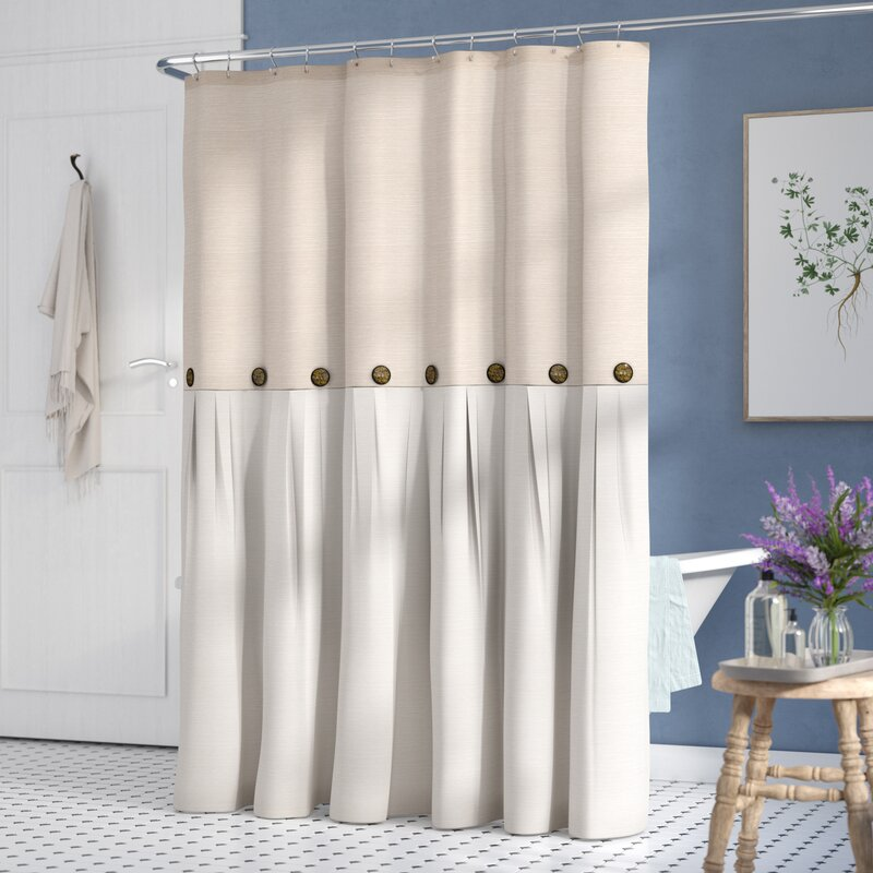 Beckham Single Shower Curtain