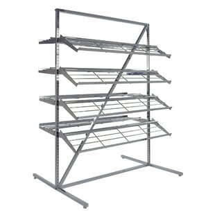 Heavy Duty 100 Pair Shoe Rack 0907f0864ab4