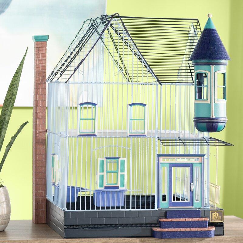 Eleanor Victorian Keet/Tiel Home Bird Cage