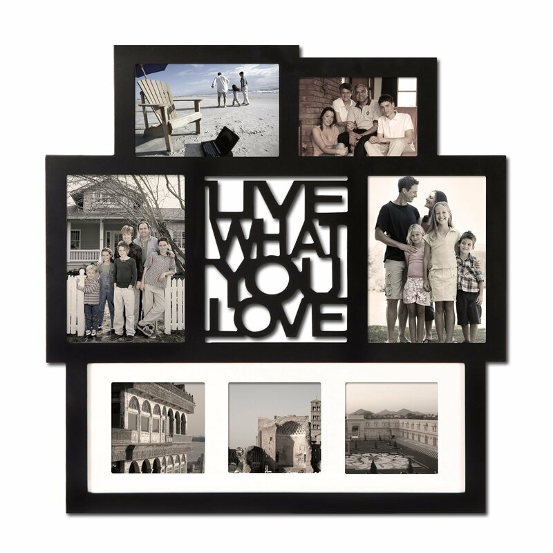 Collage & Floating Rustic Picture Frames You\'ll Love | Wayfair