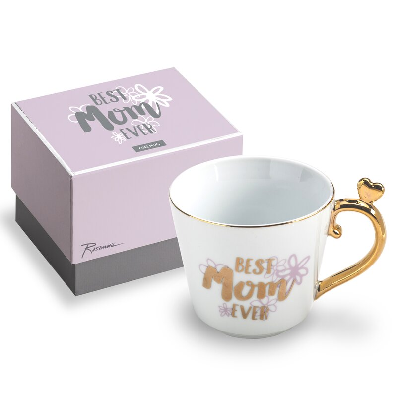 Best Mom Ever Heart Ornament Coffee Mug