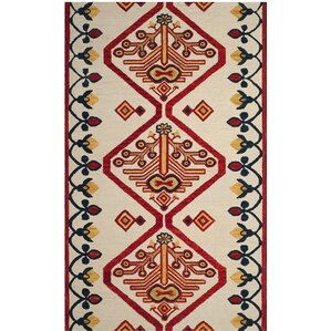 Aldwich Hand Tufted Multi Color Area Rug