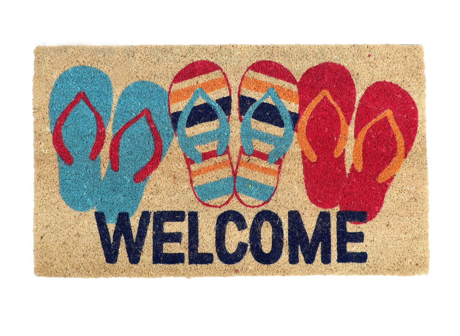 d3d3c8241 Chuyen Flip Flop Welcome Doormat   Reviews