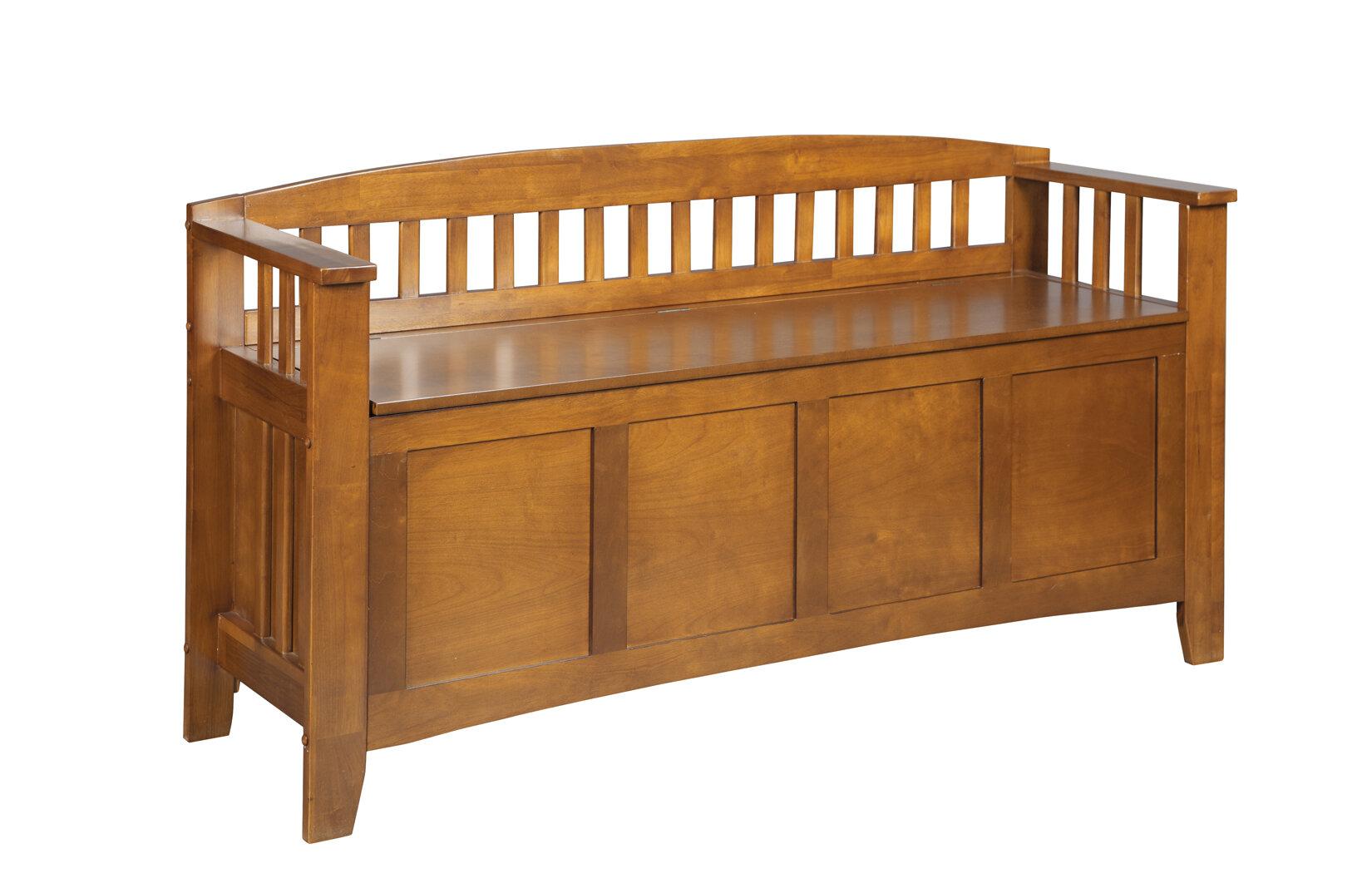 American Furniture Classics Wood Storage Bench Reviews Wayfair
