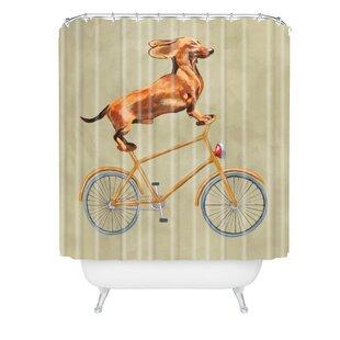 New Bicycle Shower Curtain | Wayfair DN04